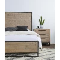 Norton Reclaimed Pine 3 Drawer Nightstand by Kosas Home