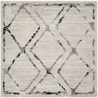 Safavieh Skyler Contemporary Ivory / Grey Rug (6'7' x 6'7' Square)