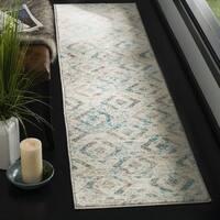 Safavieh Skyler Contemporary Ivory / Blue Rug (2' x 8') - 2' x 8'