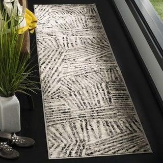 Safavieh Skyler Contemporary Grey / Ivory Rug (2' x 8') - 2' x 8'