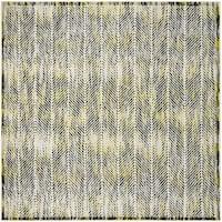 Safavieh Skyler Contemporary Grey / Green Rug (6'7' x 6'7' Square)