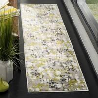 Safavieh Skyler Contemporary Grey / Green Rug (2' x 8') - 2' x 8'