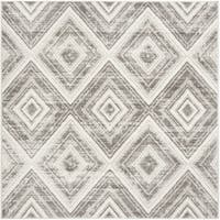 "Safavieh Skyler Contemporary Grey / Ivory Rug - 6'-7"" x 6'-7"" square"