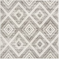 Safavieh Skyler Contemporary Grey / Ivory Rug (6'7' x 6'7' Square)