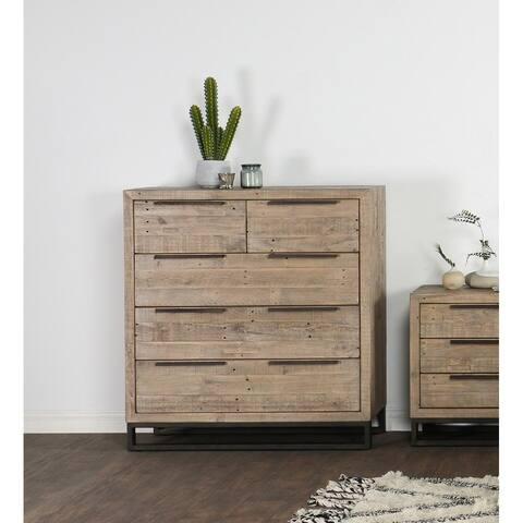 Norton Reclaimed Pine 5 Drawer Dresser by Kosas Home