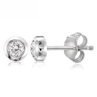 Diamonice 0.15 Carat Cubic Zirconia (AAA) Sterling Silver Stud Earring