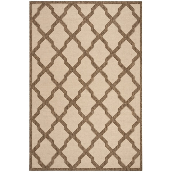 Safavieh Linden Contemporary Cream / Beige Rug - 6'7' x 6'7' Square