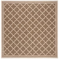 "Safavieh Linden Transitional Beige / Cream Rug - 6'7"" x 6'7"" square"