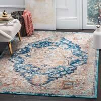 Safavieh Aria Vintage Beige / Blue Rug - 6'5' x 6'5' Round
