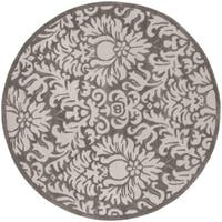 Safavieh Handmade Total Performance Transitional Stone Acrylic Rug - 6' x 6' Round