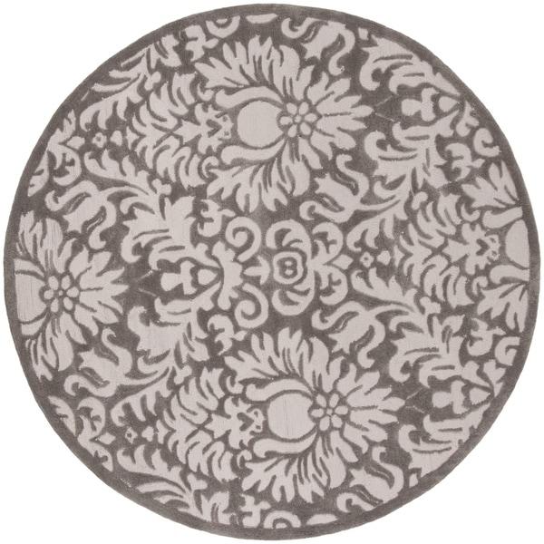 Safavieh Handmade Total Performance Transitional Stone Acrylic Rug - 6' x 6' Round
