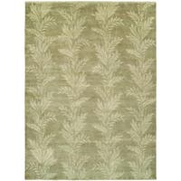 Verona Wheat Hand-Knotted Area Rug (8' x 10')