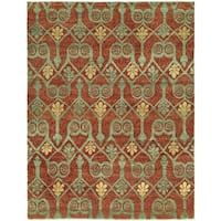 Legacy Paprika Hand-Knotted Area Rug (10' x 14')