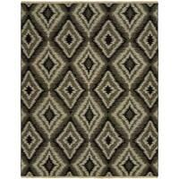 Soumak Natural Pebble Handmade Wool Area Rug (9' x 12')