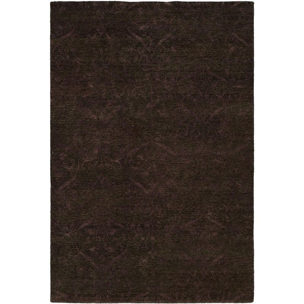 Royal Manner Derbyshire Twilight/ Lavender Wool Handmade Area Rug (10' Round)
