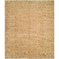 Royal Manner Derbyshire Beige Handmade Wool Area Rug