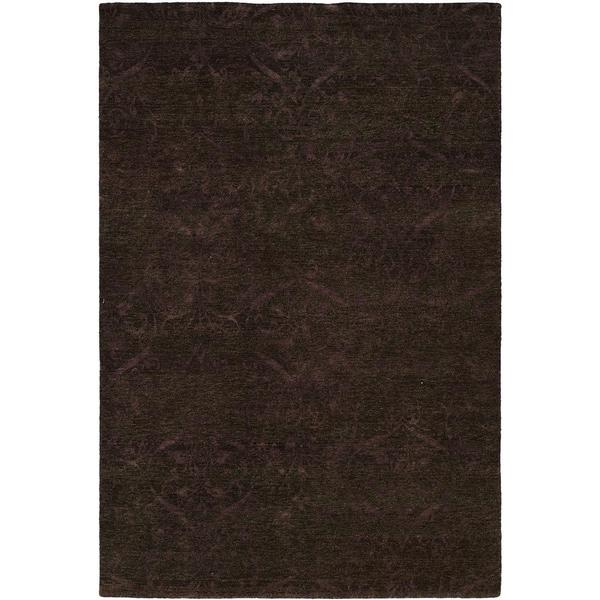 Royal Manner Derbyshire Twilight/Lavender Wool Handmade Formal Area Rug