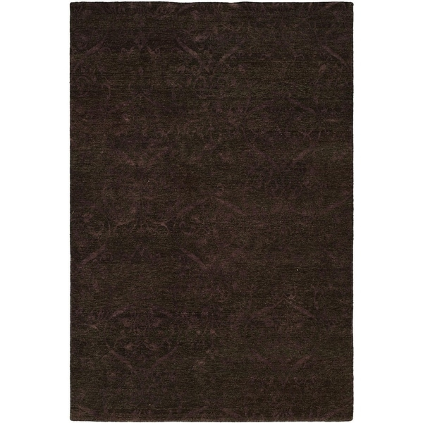 Royal Manner Derbyshire Twilight/Lavender Wool Handmade Area Rug - 8' x 8'