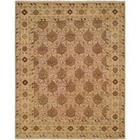 Sonata Antique Parchment Wool Handmade Traditional Runner Rug (2'6 x 8')