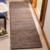 "Safavieh Hand-Woven Natural Fiber Contemporary Beige Jute Rug - 2'3"" x 8'"