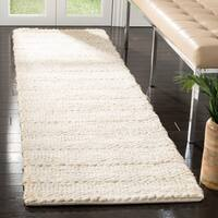 Safavieh Hand-Woven Natural Fiber Contemporary Bleach Jute Rug - 2'3' x 8'