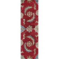 "Florence 4587 Ruby Allover Mahal Runner - 2'3"" x 7'6"" runner"