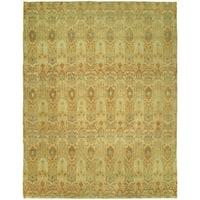 Legacy Honeydew Wool Handmade Runner Rug