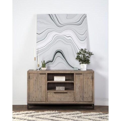 Norton Reclaimed Pine 1 Drawer 2 Door Media Cabinet by Kosas Home