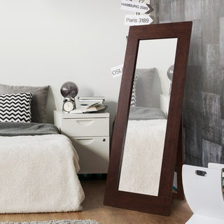Furniture of America Waur Rustic 72-inch Rectangular Standing Mirror