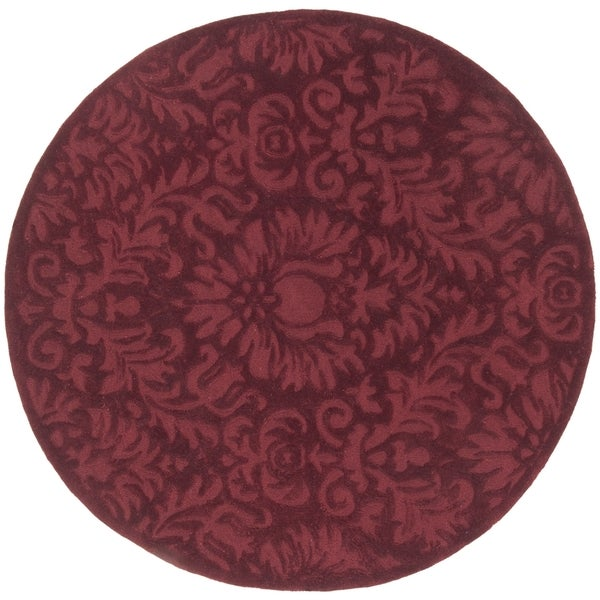 Safavieh Hand-Hooked Total Performance Traditional Marine Rug (8' x 8' Round)