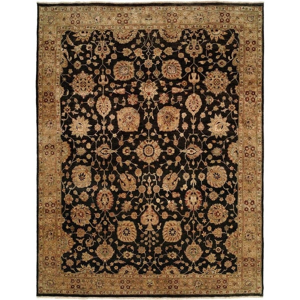 Shop Traditional Black Camel Hand Knotted Area Rug 11 X 16 11