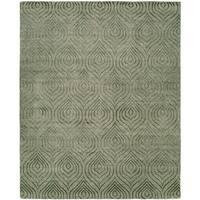 Origins Stone Wool/Silkette Handmade Area Rug - 6' x 9'