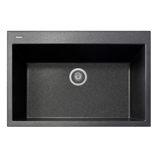 Single Basin Kitchen Sink 33 X 22 Latoscana plados 33 x 22 single basin granite drop in sink free latoscana plados 33 x 22 single basin granite drop in sink workwithnaturefo