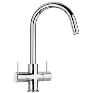 LaToscana Elba Two Handle Pull-Down Kitchen Faucet