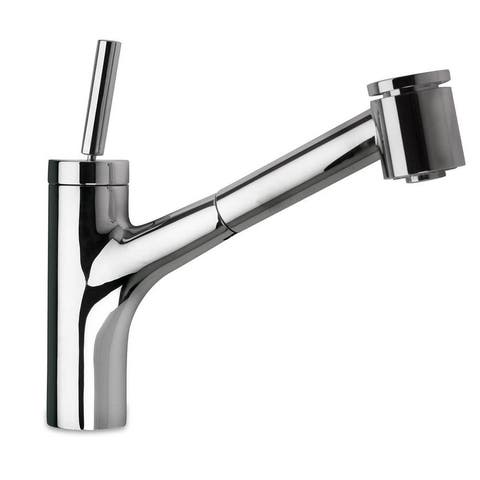 LaToscana Elba Single Handle Joystick Pull-Out Kitchen Faucet