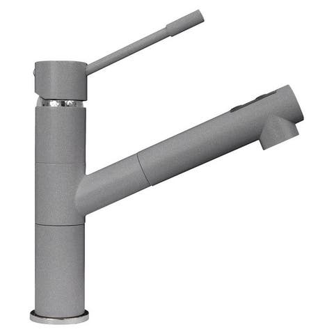 LaToscana TIZMIX Single Handle Pull-Out Kitchen Faucet