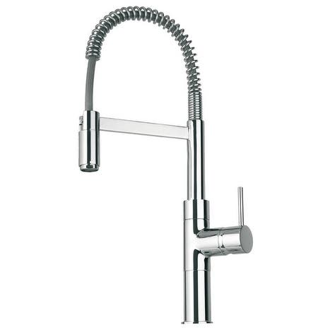 Handmade Elba Single Handle Kitchen Faucet with Spring Spout