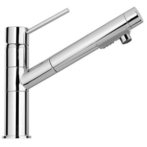 LaToscana Elba Single Handle Pull-Out Spray Kitchen Faucet