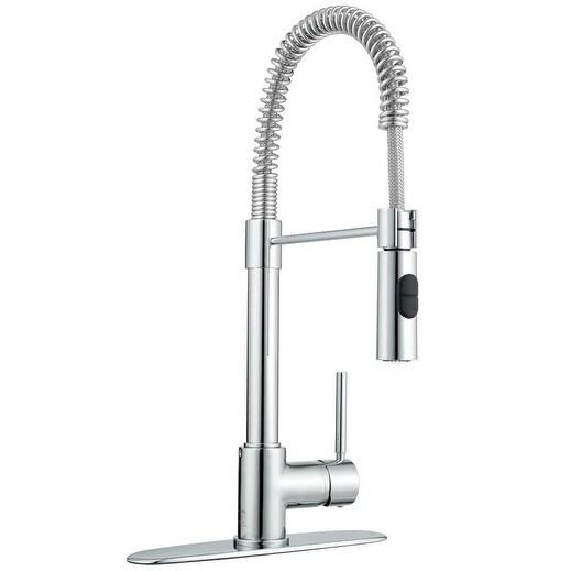 LaToscana Elba Single Handle Pull Out Spray Kitchen Faucet