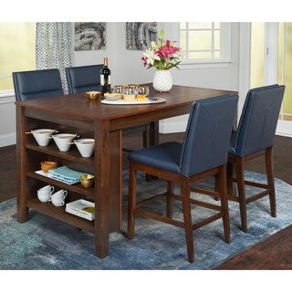 Simple Living Keaton 5-Piece Counter Height Dining Set - N/A