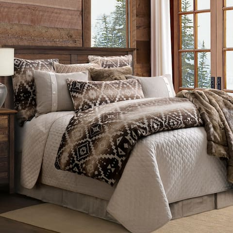 Chalet Aztec Duvet, Super Queen - Multi