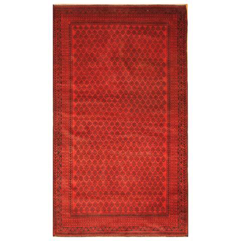 Handmade One-of-a-Kind Balouchi Wool Rug (Afghanistan) - 3'9 x 6'6