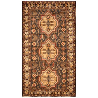 Handmade One-of-a-Kind Balouchi Wool Rug (Afghanistan) - 3'11 x 7'1