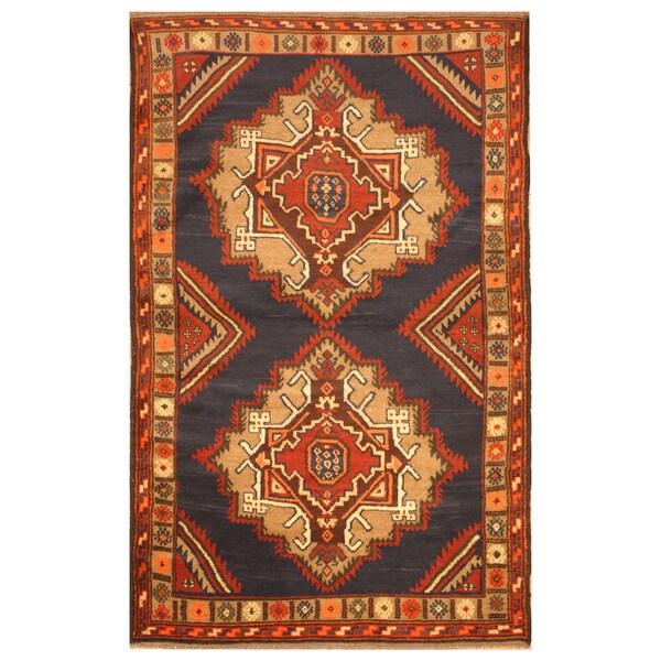 Handmade One-of-a-Kind Balouchi Wool Rug (Afghanistan) - 3'7 x 5'10