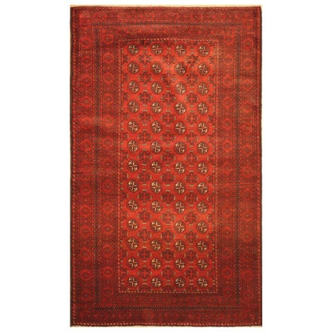 Handmade One-of-a-Kind Balouchi Wool Rug (Afghanistan) - 3'8 x 6'3