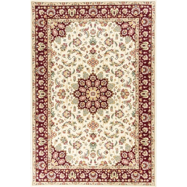 Shop Kingston Ivory/Red Tabriz