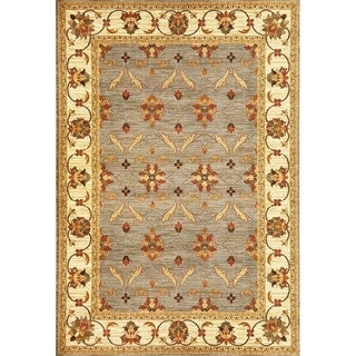 Lifestyles Slate/Ivory Agra - 2'7 x 4'1
