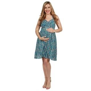 24seven Comfort Apparel Elena Maternity Dress