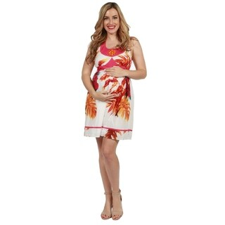 24seven Comfort Apparel Hope Maternity Dress (3 options available)