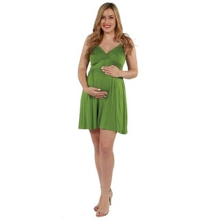 24seven Comfort Apparel Skylar Maternity Dress